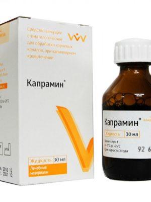 Кровоостанавливающие средства Кровоостанавливающая жидкость Капрамин, 30 мл