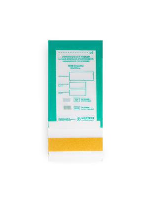 Пакеты для стерилизации Пакет для стерилизации МедТест 60*100 комбинированный, 100шт/уп