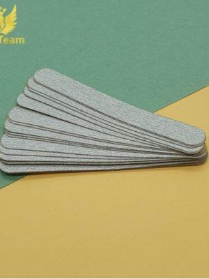 Бафы и пилки Сменные файлы AngelTeam средняя 180 грит серый, 25 шт