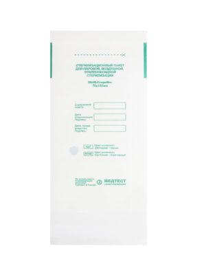 Пакеты для стерилизации Пакет для стерилизации МедТест 75*150 бумажный плоский, 100шт/уп