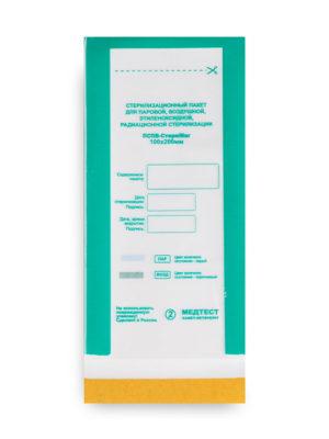 Пакеты для стерилизации Пакет для стерилизации МедТест 100*200 комбинированный, 100шт/уп
