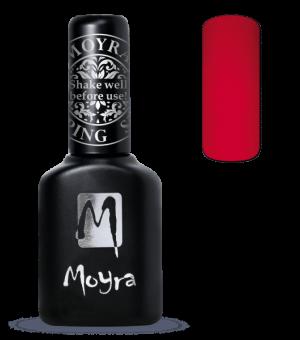 Стемпинг Лак Moyra для литья на стемпине красный FP-05, 10 мл