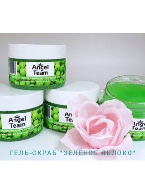 Скраб Гель-скраб AngelTeam Зеленое яблоко, 100 мл