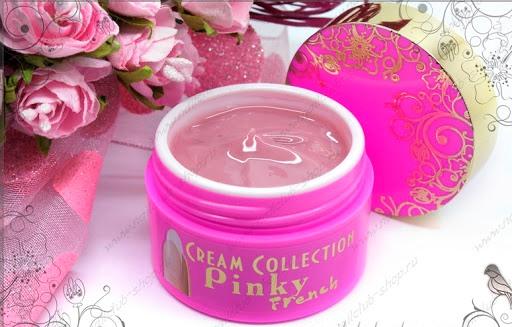 Гелевая система Гель камуфлирующий Nail Club Cream-Gel Pinky French, 30  мл