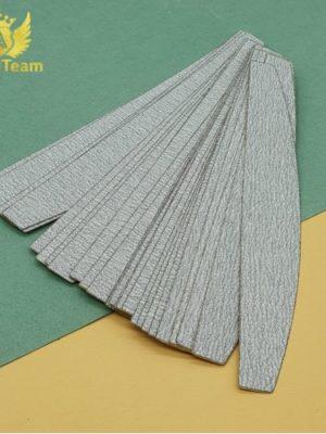 Бафы и пилки Сменные файлы AngelTeam лодочка 100 грит серый, 25 шт